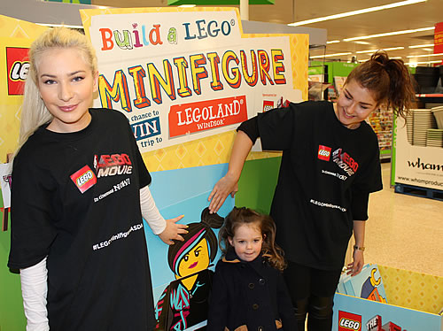 Lego The Movie Launch